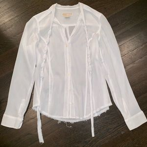 Michael Kors white blouse
